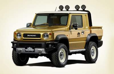 Suzuki Jimny Survive off-road concept revealed