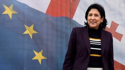 Президент Грузии рассказала о будущих отношениях с США и ЕС