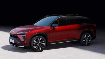 Nio premiers latest electric SUV ES6 in Shanghai