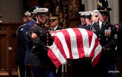 В США похоронили Джорджа Буша-старшего