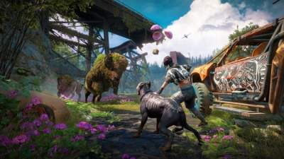 Fend Off Highwaymen in Far Cry New Dawn's Lush World