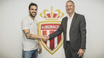 Award-winning Spanish midfielder Cesc Fabregas will continue his career in the French League