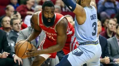 Harden scores 57, Rockets beat Grizzlies 112-94