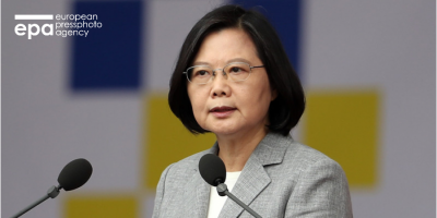Taiwan President vows to defend democracy, way of life