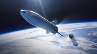 Elon Musk Unveils Shiny New Concept Art For SpaceX's Starship