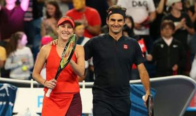 Roger Federer and Belinda Bencic win Hopman Cup in Perth