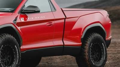 The Designer Showed Might Look Like The Lamborghini Pickup Truck