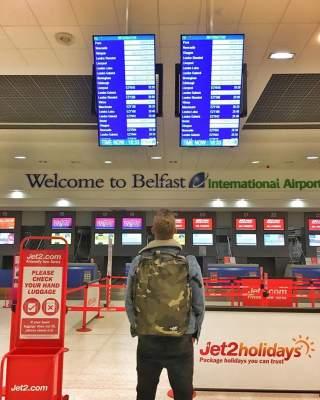 Путешествия ирландца, побывавшего во всех странах мира. Фото