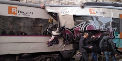 A large-scale accident in Spain: faced two passenger trains