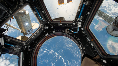Space station teeming with bacteria & fungi, Nasa finds