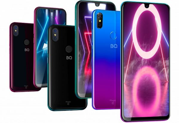 BQ 5730L Magic – a Russian smartphone with NFC-chip