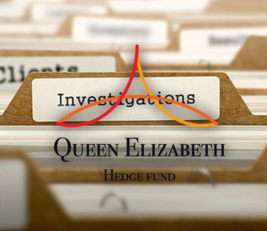 Bad Times for Queen Elizabeth Hedge Fund